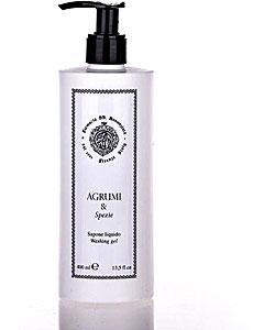 Farmacia Ss Annunziata 1561  -  AGRUMI E SPEZIE - LIQUID SOAP - 400 ML