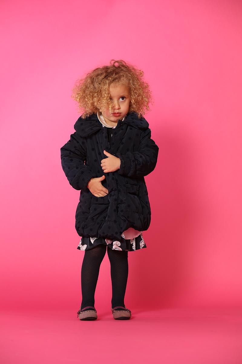 设计师品牌女童宝宝夹克