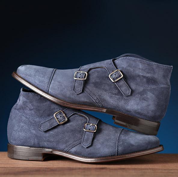 设计师品牌男士切尔西靴
