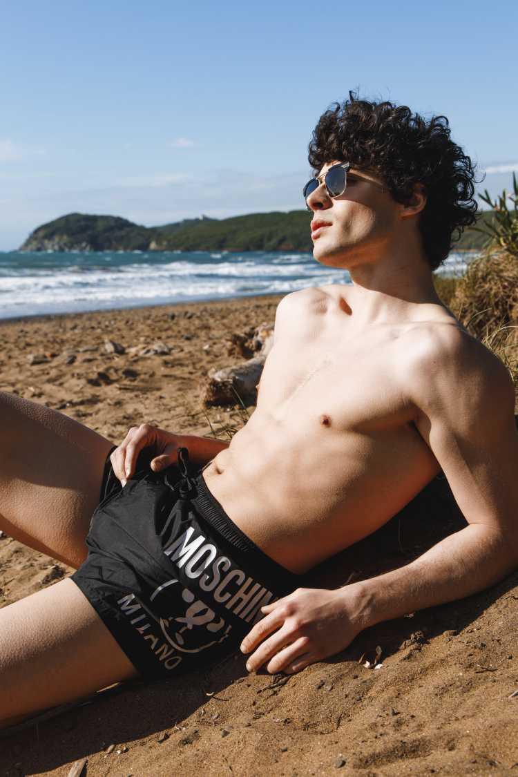 莫斯奇诺(Moschino)男士泳装
