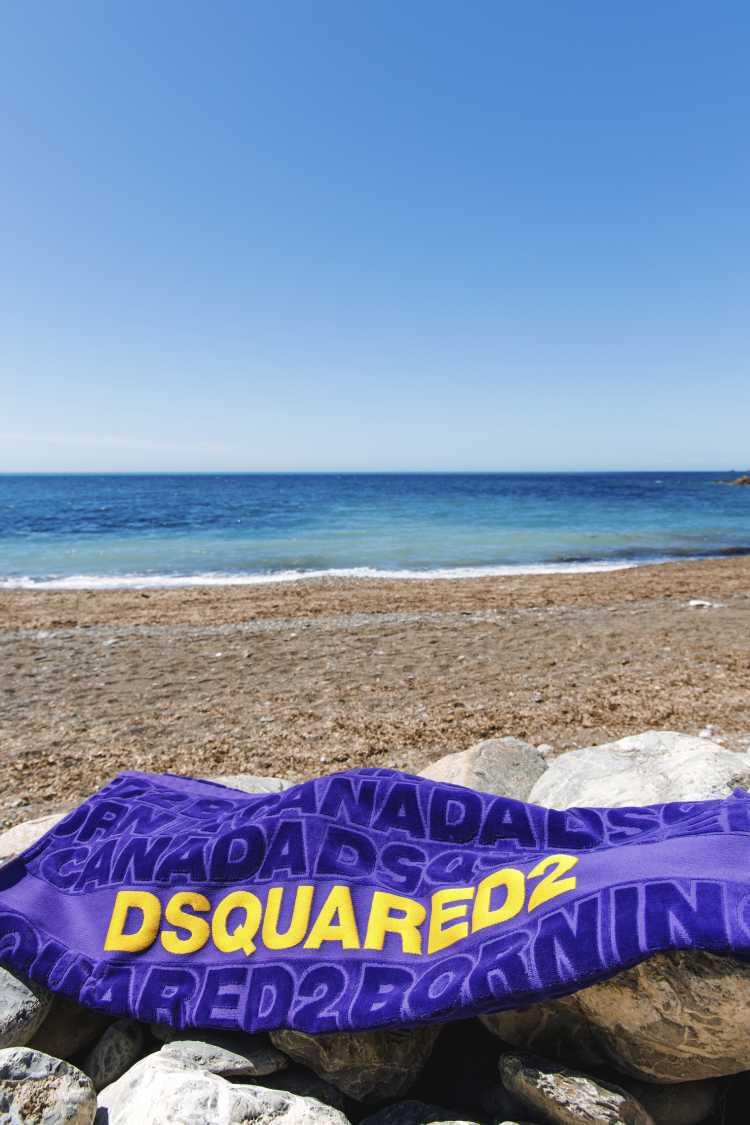 设计师品牌男士沙滩巾