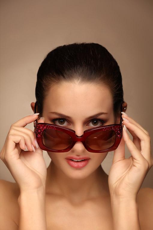 范思哲(Versace)女士墨镜