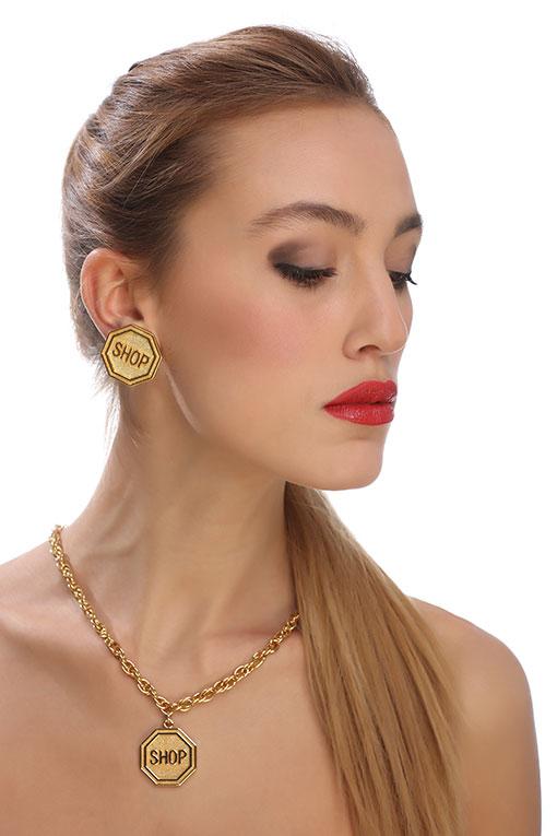莫斯奇诺(Moschino)女士珠宝首饰