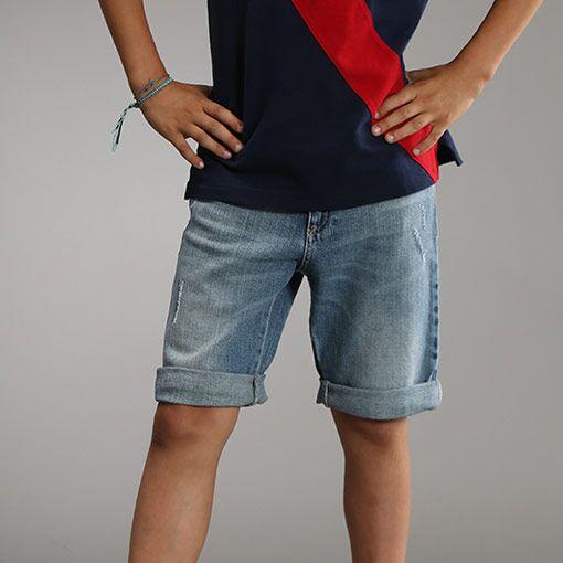 设计师品牌男童短裤