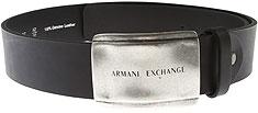 Armani Exchange 男士腰带