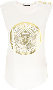 Balmain Damen T-Shirt - Spring - Summer 2021