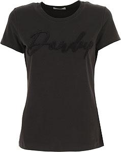 Dondup Damen T-Shirt - Herbst-Winter 2020/21