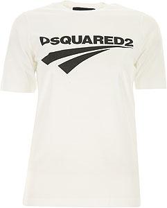 Dsquared Damen T-Shirt - Herbst-Winter 2020/21