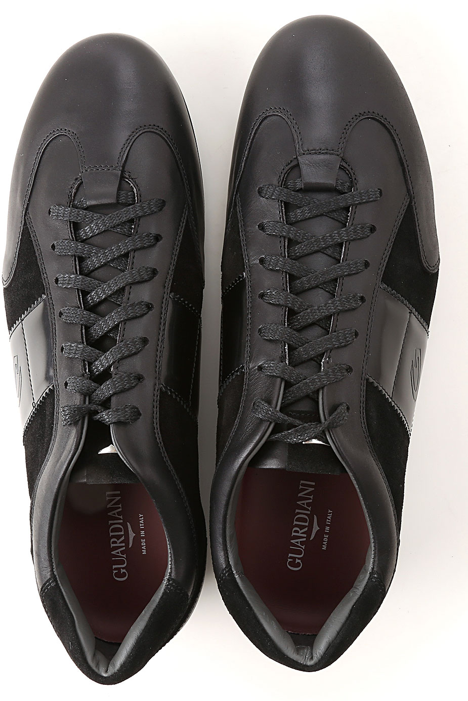 Alberto Guardiani Shoes Brogues Leather Perforated Rubber