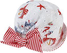 Monnalisa Baby Girl Hat - Spring - Summer 2021
