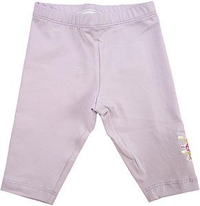 Monnalisa Baby Girl Pants - Spring - Summer 2021
