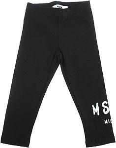 MSGM Baby Girl Pants - Spring - Summer 2021