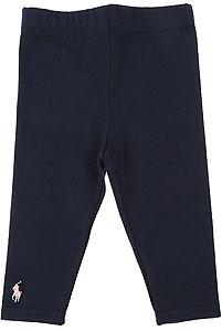 Ralph Lauren Baby Girl Pants - Fall - Winter 2021/22