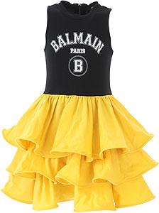 Balmain Girls Dress - Spring - Summer 2021