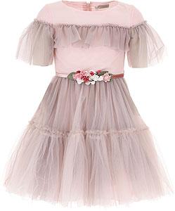 Monnalisa Girls Dress - Fall - Winter 2021/22