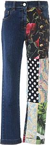 Dolce & Gabbana Girls Jeans - Spring - Summer 2021