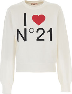 NO 21 Girls Sweaters - Spring - Summer 2021