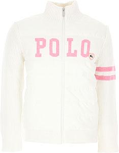 Ralph Lauren Girls Sweaters