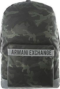 Armani Exchange Backpack for Men - Fall - Winter 2020/21