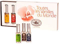 La Maison de la Vanille Women's Fragrances -  VANILLES DU MONDE - DISCOVERING BOX - 5 X 15 ML