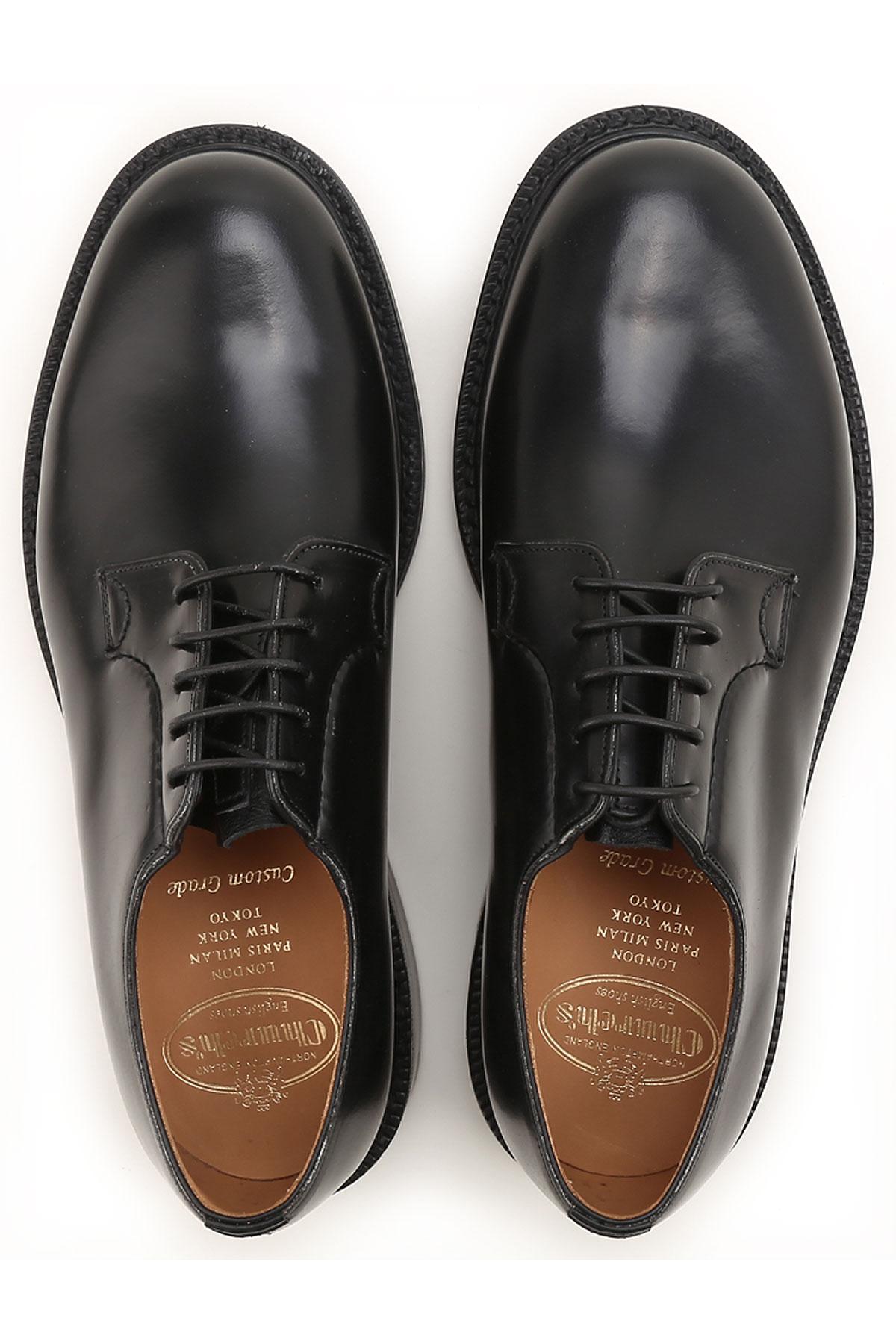 2019 Para Hombres verano Church's nbsp; Zapatos Primavera Negro wF8OxXq