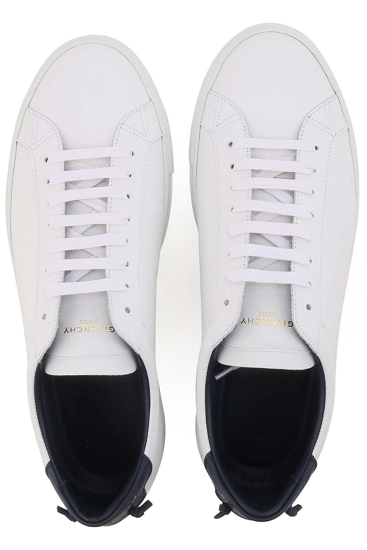 verano Azul Hombres Givenchy Primavera Zapatos Blanco 2019 Para 7q0ZywI