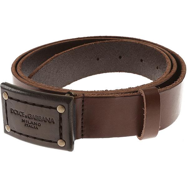 faeebeb93 Cinturones para Hombres Dolce & Gabbana, Detalle Modelo:  bc3884-a1518-marrone