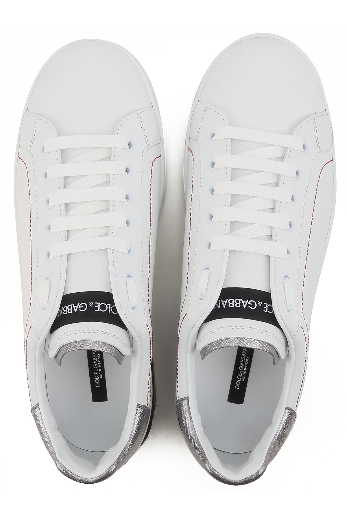Gabbana amp; Zapatos Blanco Para Dolce Plata 2019 Primavera verano Hombres 45qCdnEFxw