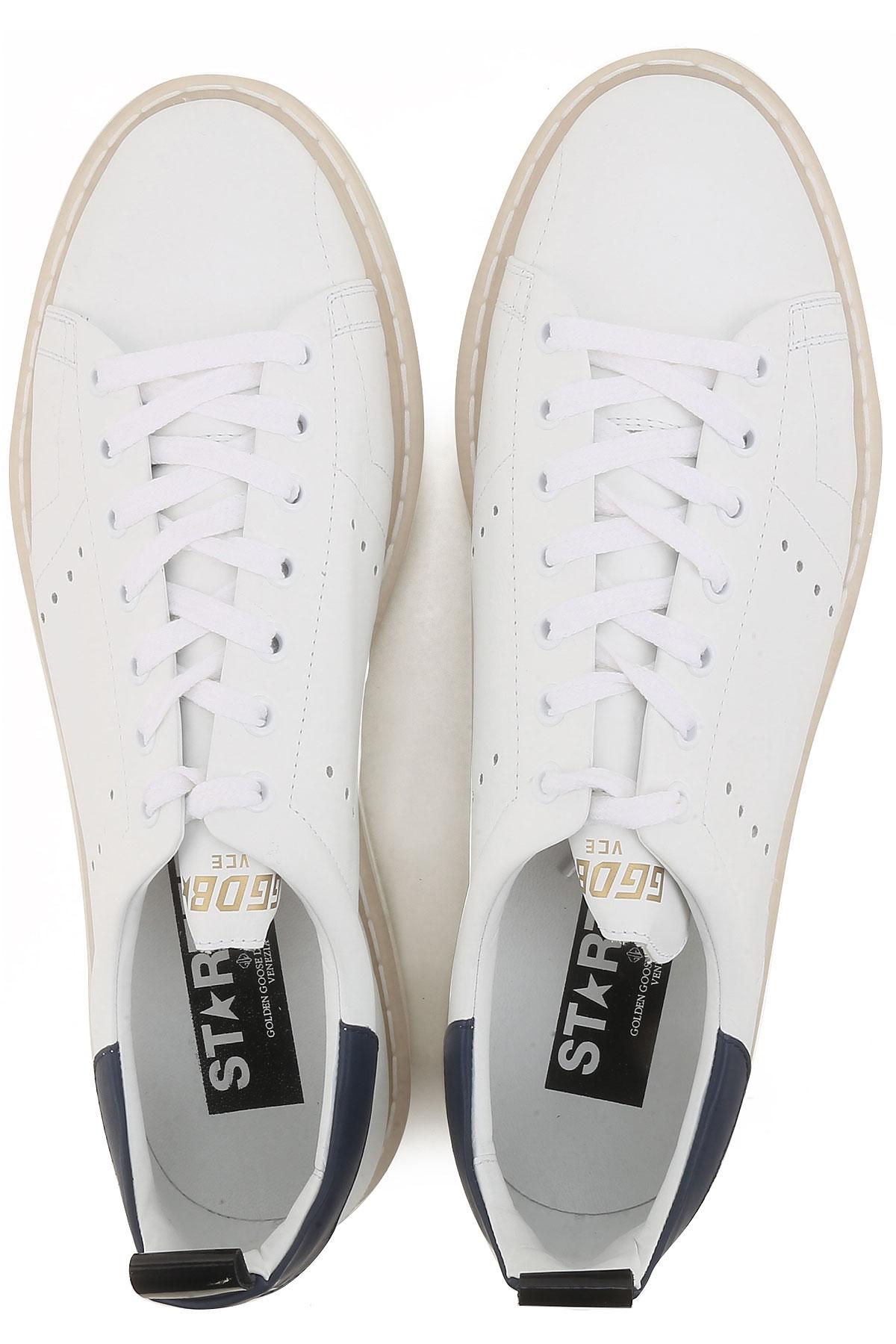 2019 Hombres Para Primavera Goose Zapatos Azul Blanco verano Golden waq1BYtxx