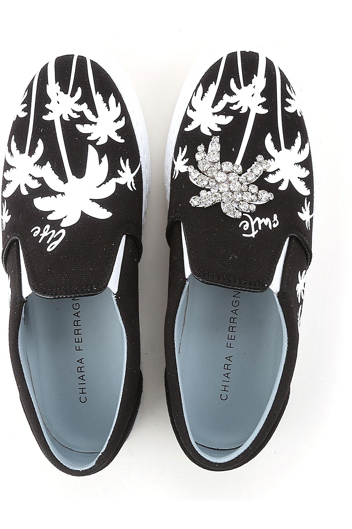 Negro Para Primavera Zapatos 2019 verano Mujer nbsp; Ferragni Chiara Rw0xPgq7