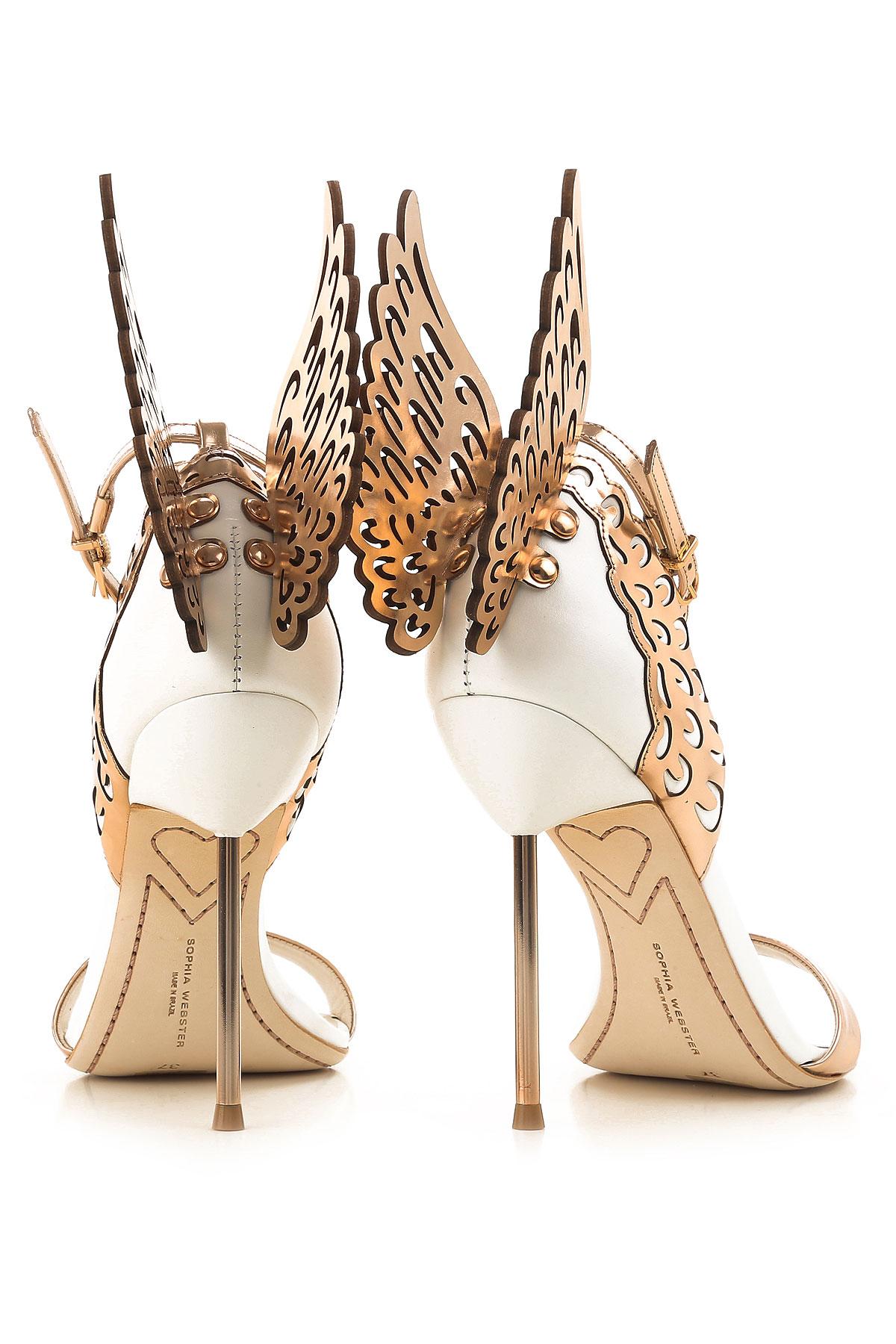 Webster Zapatos 19 Para invierno 2018 Otoño Oro Blanco Sophia Rosa Mujer dq6RwEPd5