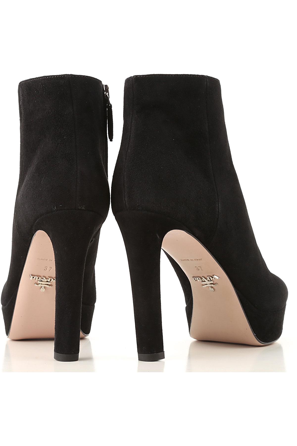 Negro nbsp; Prada Otoño Mujer invierno 19 Zapatos 2018 Para xTfTq0vw1
