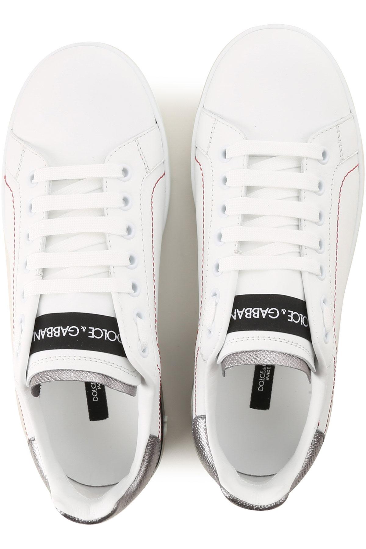 Blanco Primavera Mujer Para Negro verano Dolce Gabbana Zapatos amp; nbsp;plata 2019 8WXT44wpqn