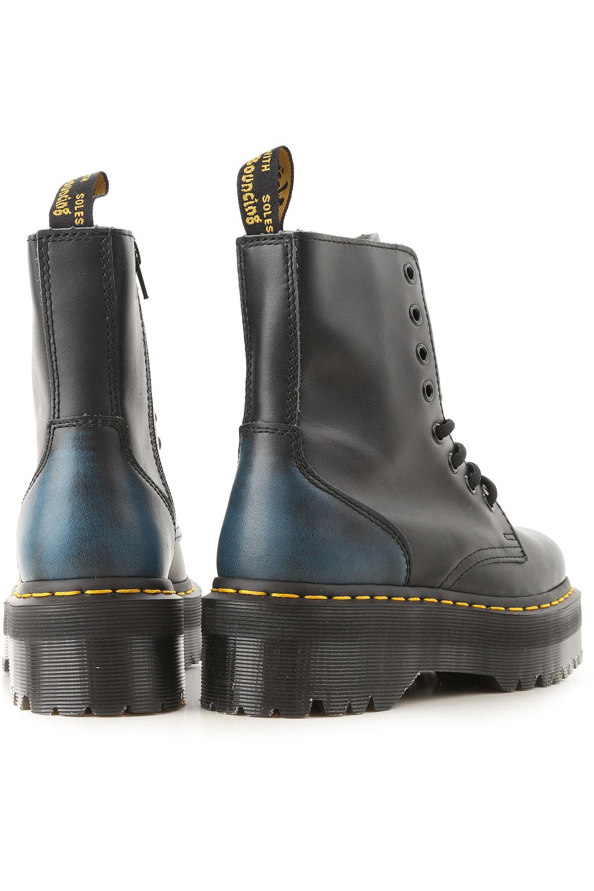 Mujer Martens 2018 invierno 19 Para Marino Otoño Dr Negro Zapatos Azul qUwtdBB