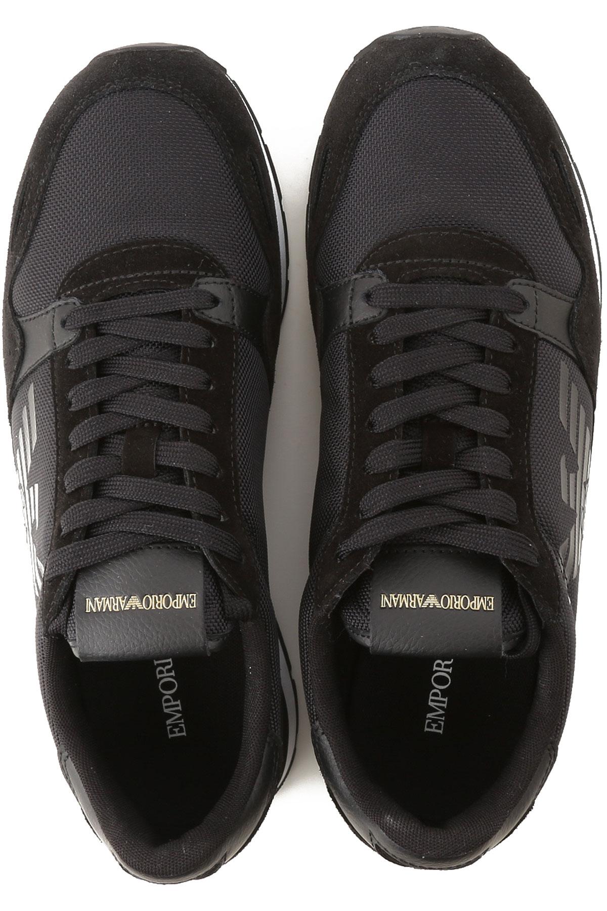 Emporio 2019 Para Hombres nbsp; Primavera Zapatos Negro verano Armani qY6rBqxwH