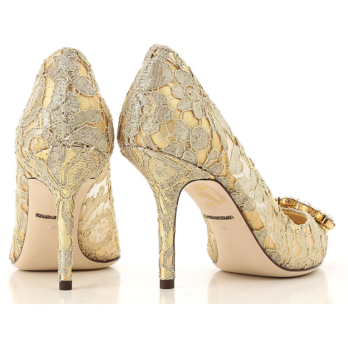 Dolce Para Oro amp; dorado nbsp; verano Mujer Zapatos 2019 Gabbana Primavera RfHrqR