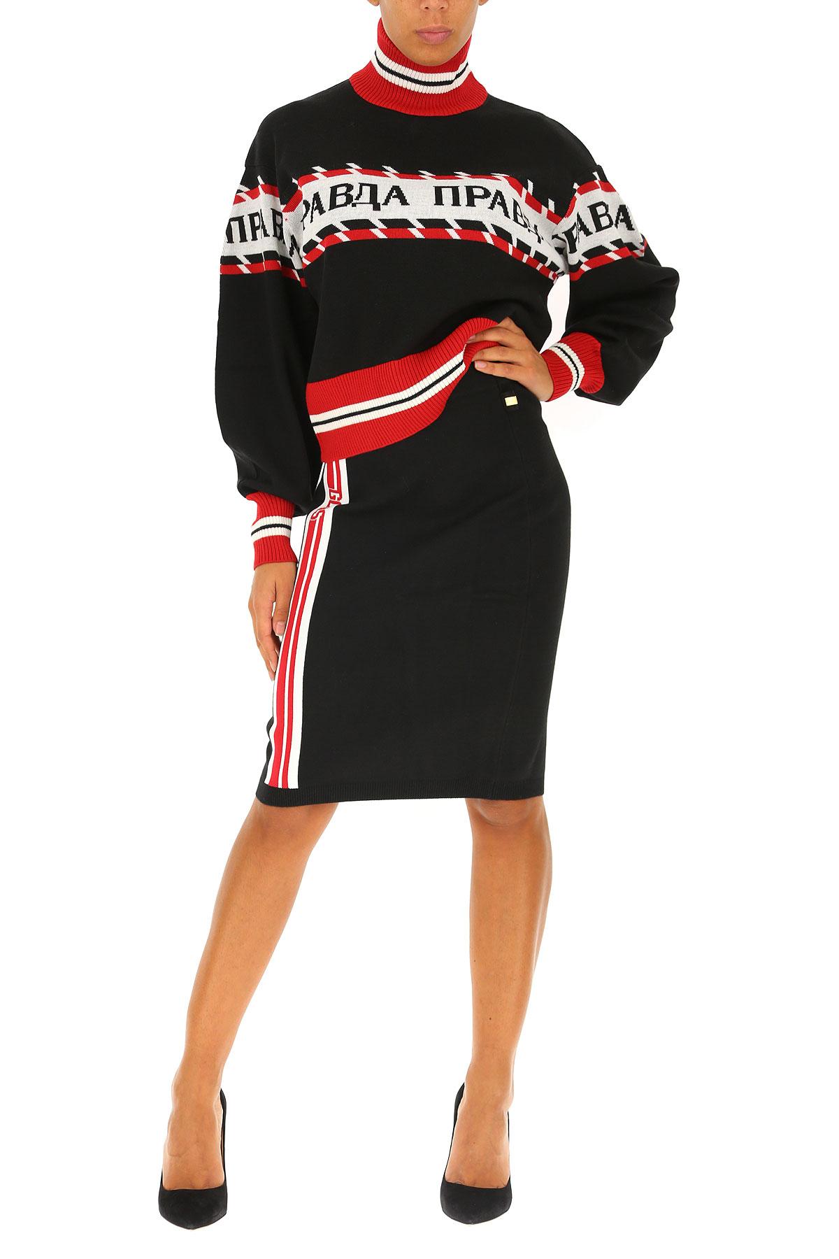 2018 Para Negro 19 Mujer Ropa Msgm nbsp;blanco invierno Otoño Rojo nSXxO4qU6w