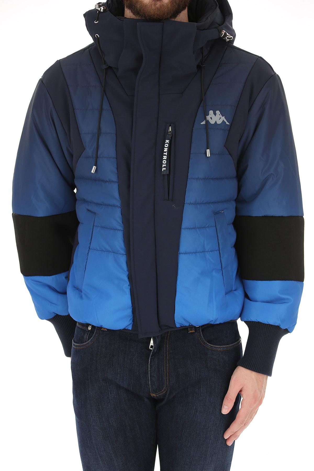 2018 invierno Azul Para Ropa 19 Brillante Hombres Claro Kappa Kontroll Marino Otoño W8RYnqnXx