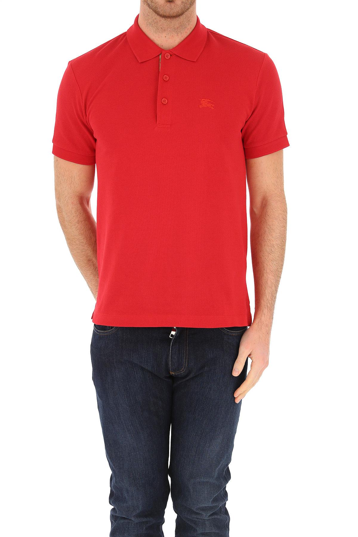 Hombres Primavera nbsp; verano Burberry Ropa Rojo 2019 Para qEvZwwt