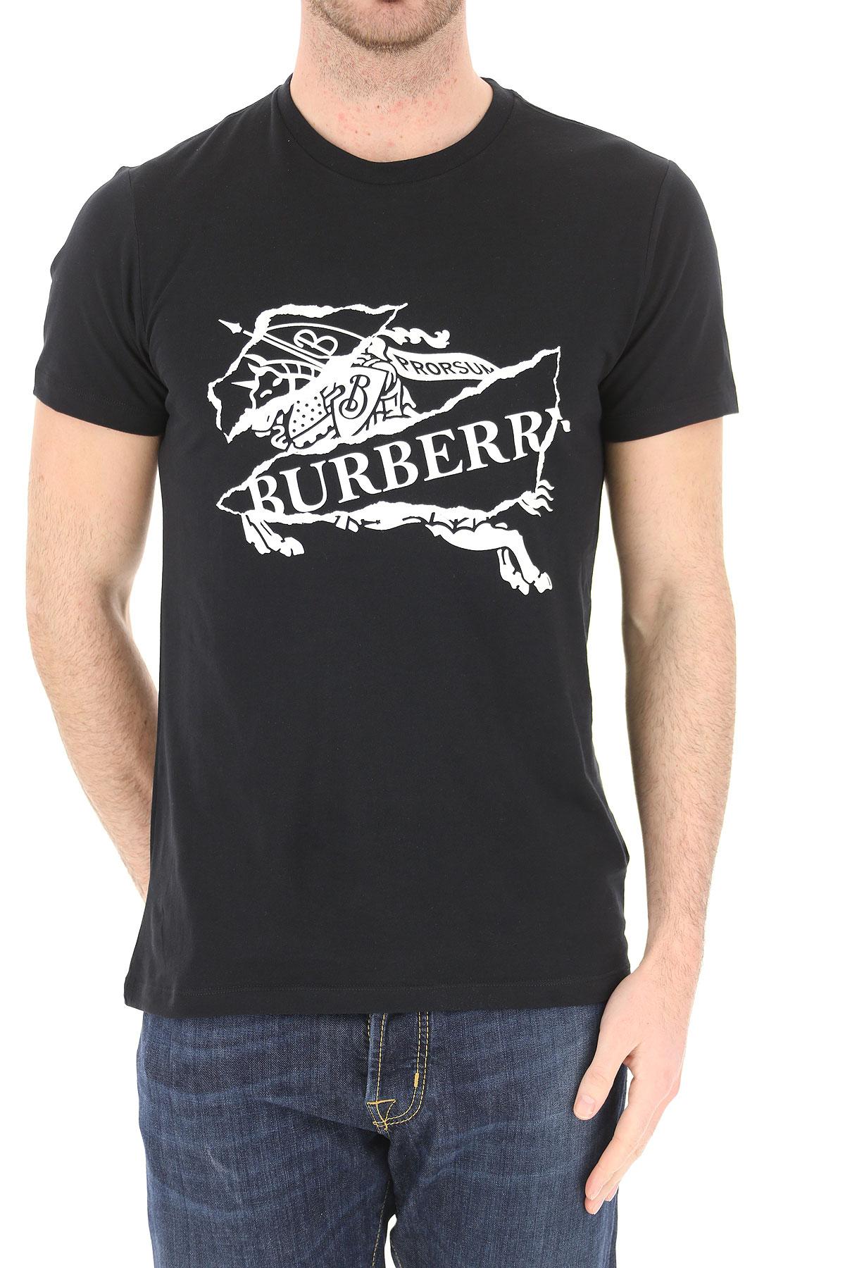 Para Ropa verano Negro 2019 Burberry Primavera Blanco Hombres HBwq5