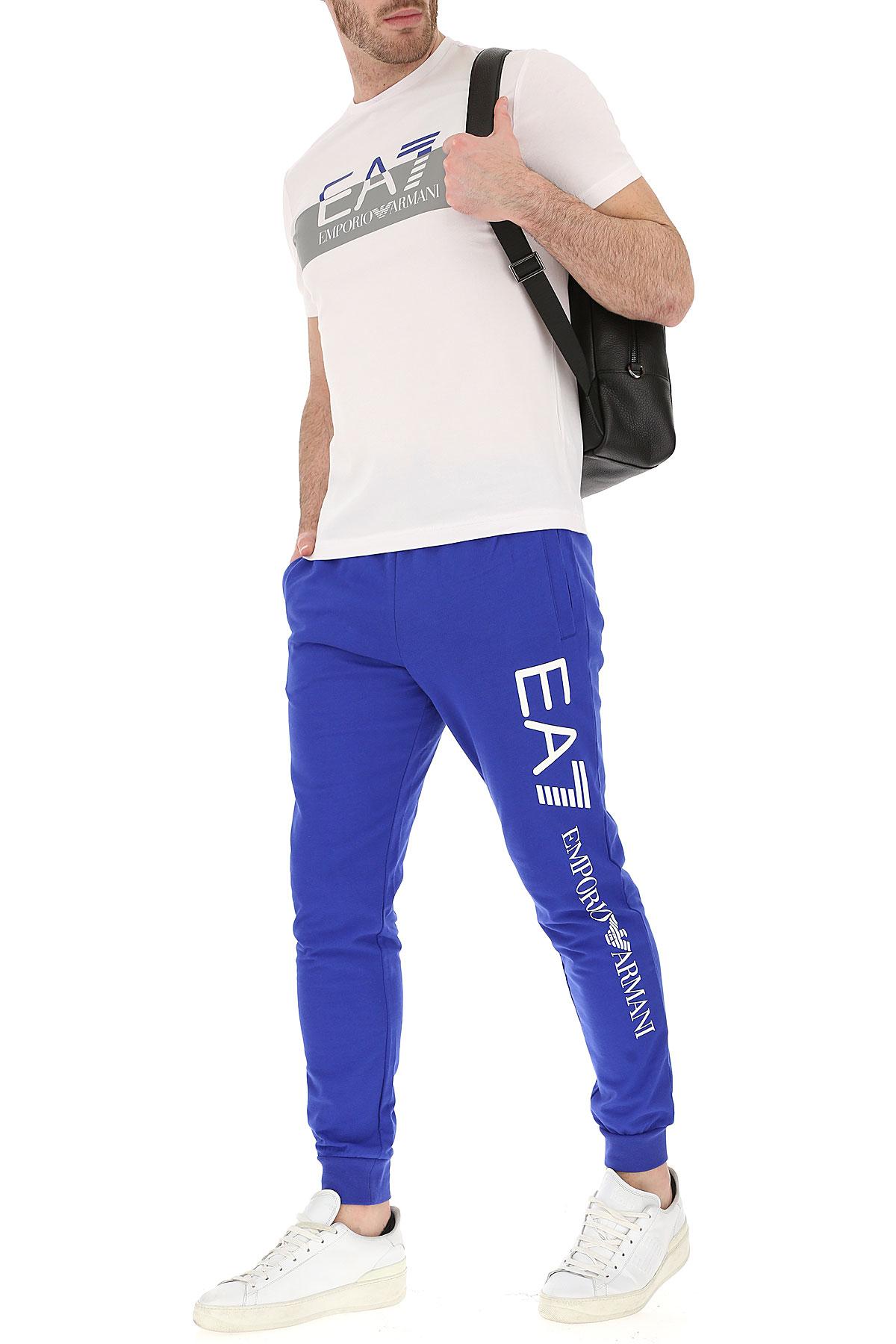 Armani Hombres Primavera Ropa Cobalto verano 2019 Azul Blanco Emporio Para gdqnxBq