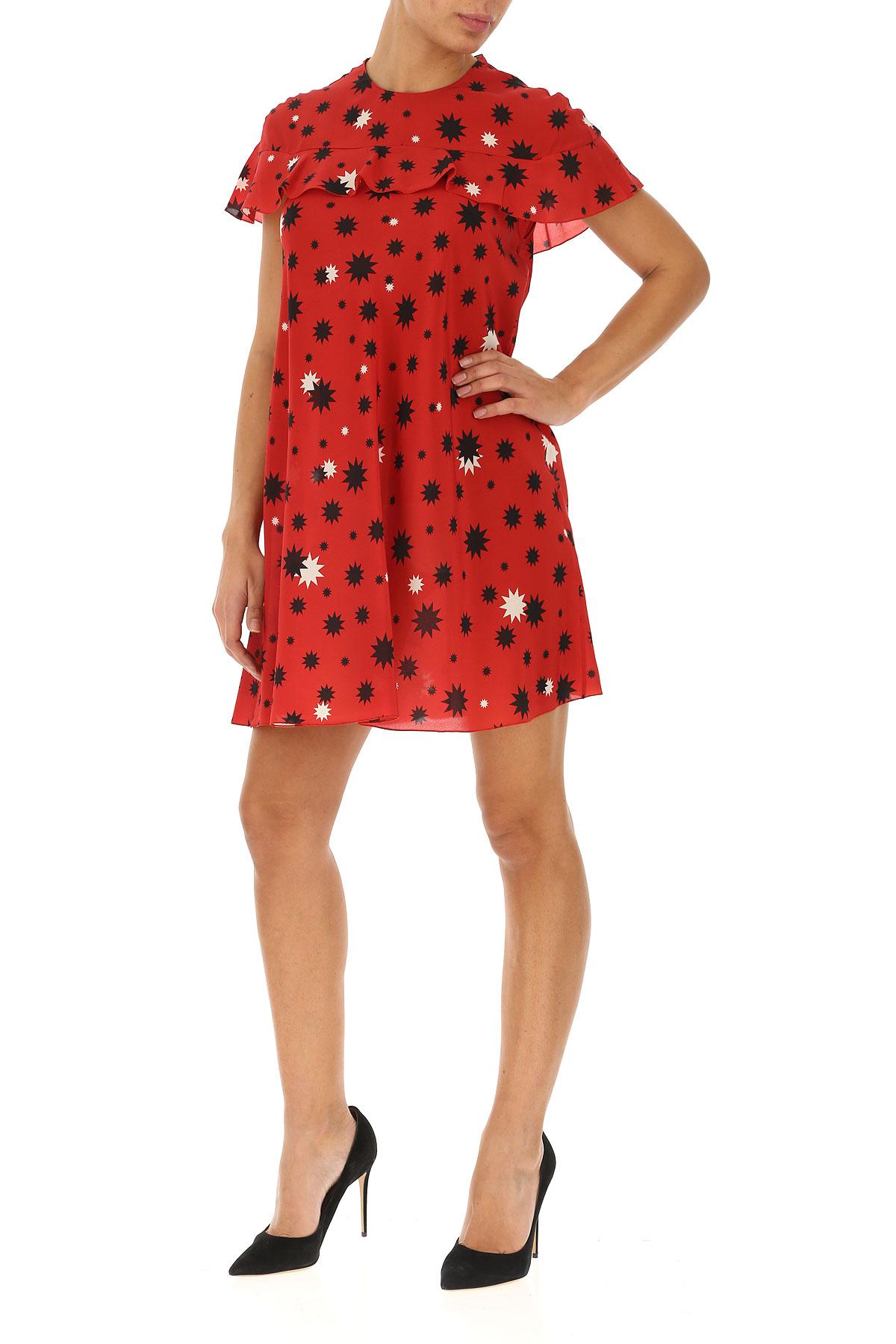 Valentino verano Rojo Ropa Negro Red 2019 Para Mujer Primavera Hq1dFwFZ