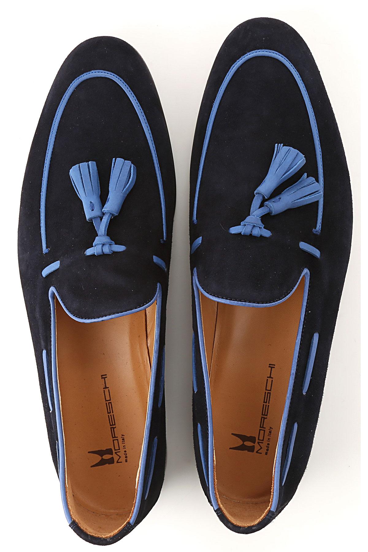 verano 2019 Medianoche Hombres Moreschi Azul Para Oscuro Primavera Zapatos x4fqBTwR1