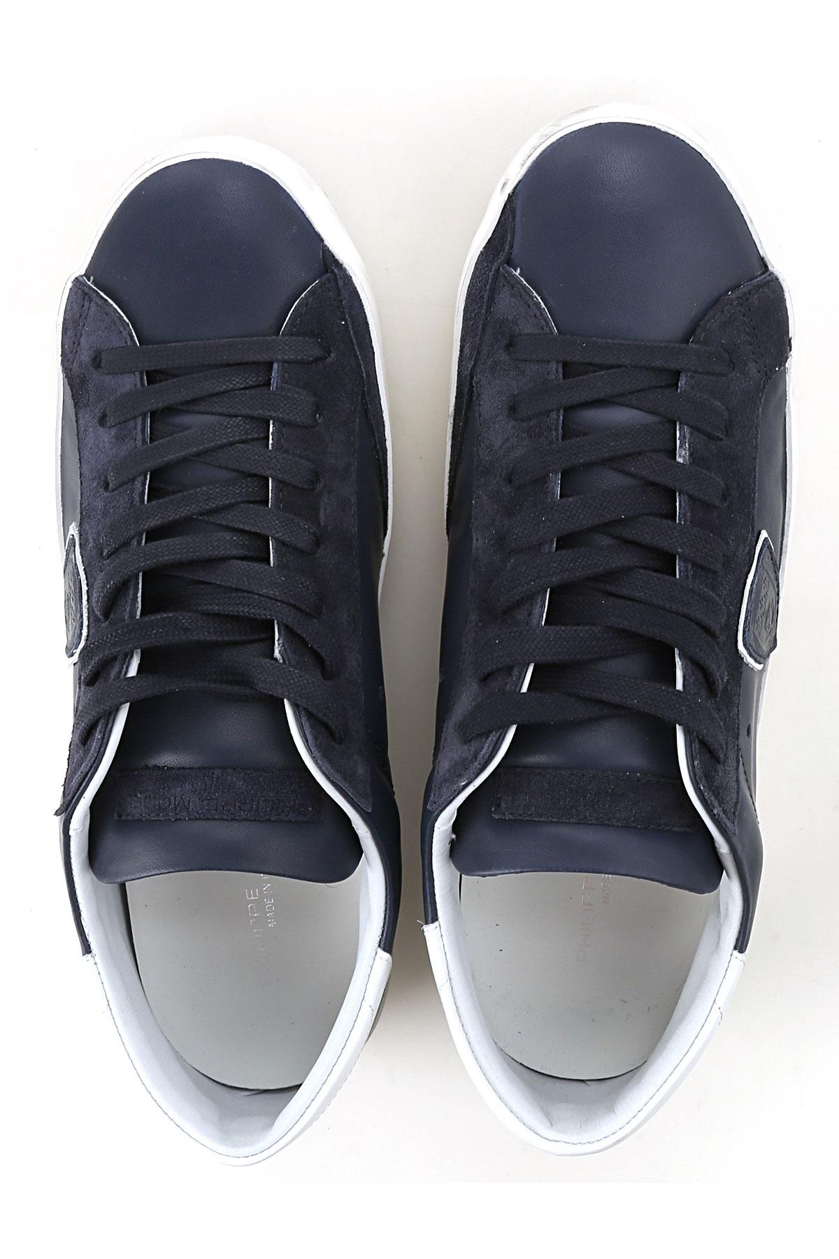 Hombres verano Model Azul Zapatos Para 2019 Primavera Philippe Blanco BvZqAtWz
