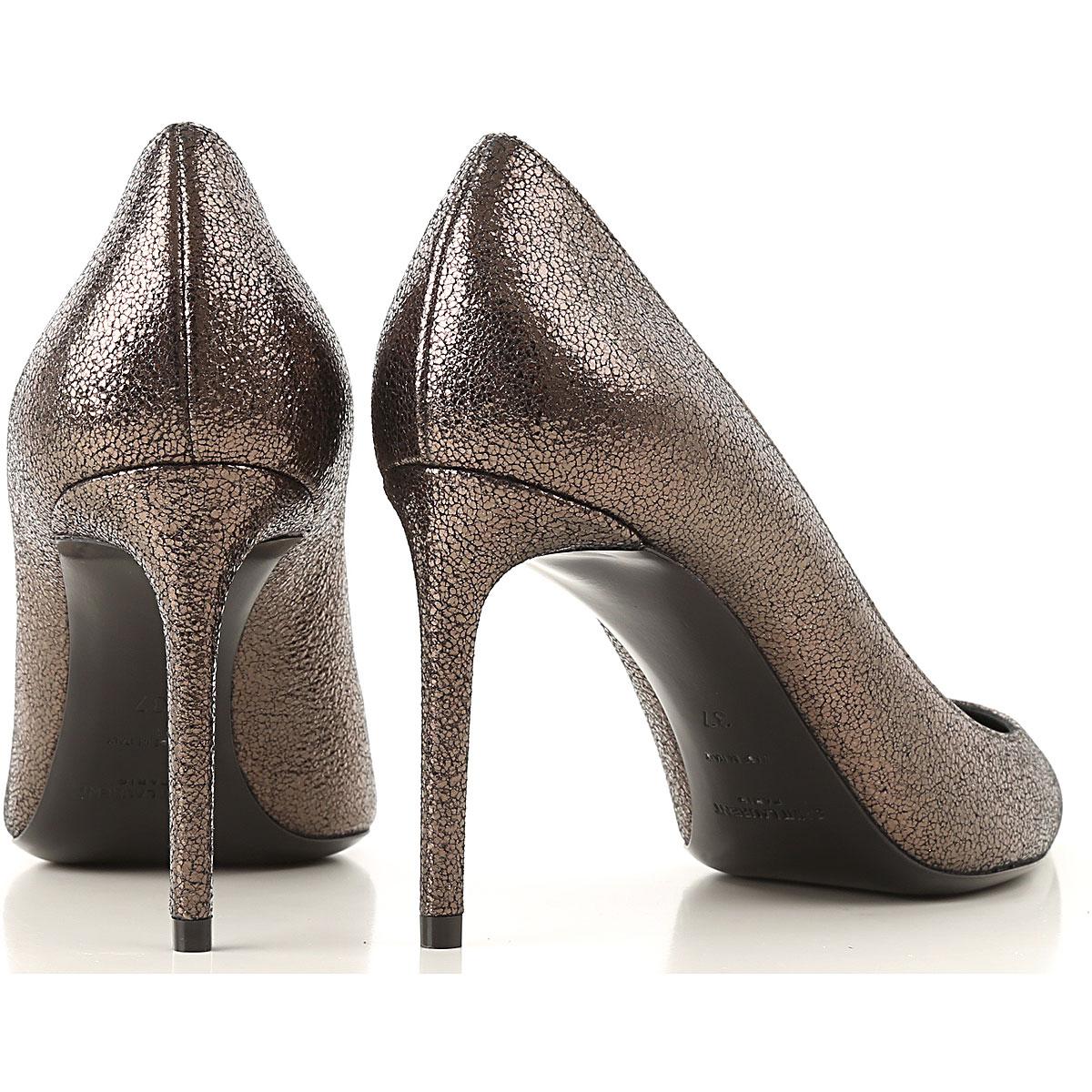2019 nbsp; Primavera Metálico Para Laurent Bronce verano Zapatos Saint Mujer a7WgZq6qCw