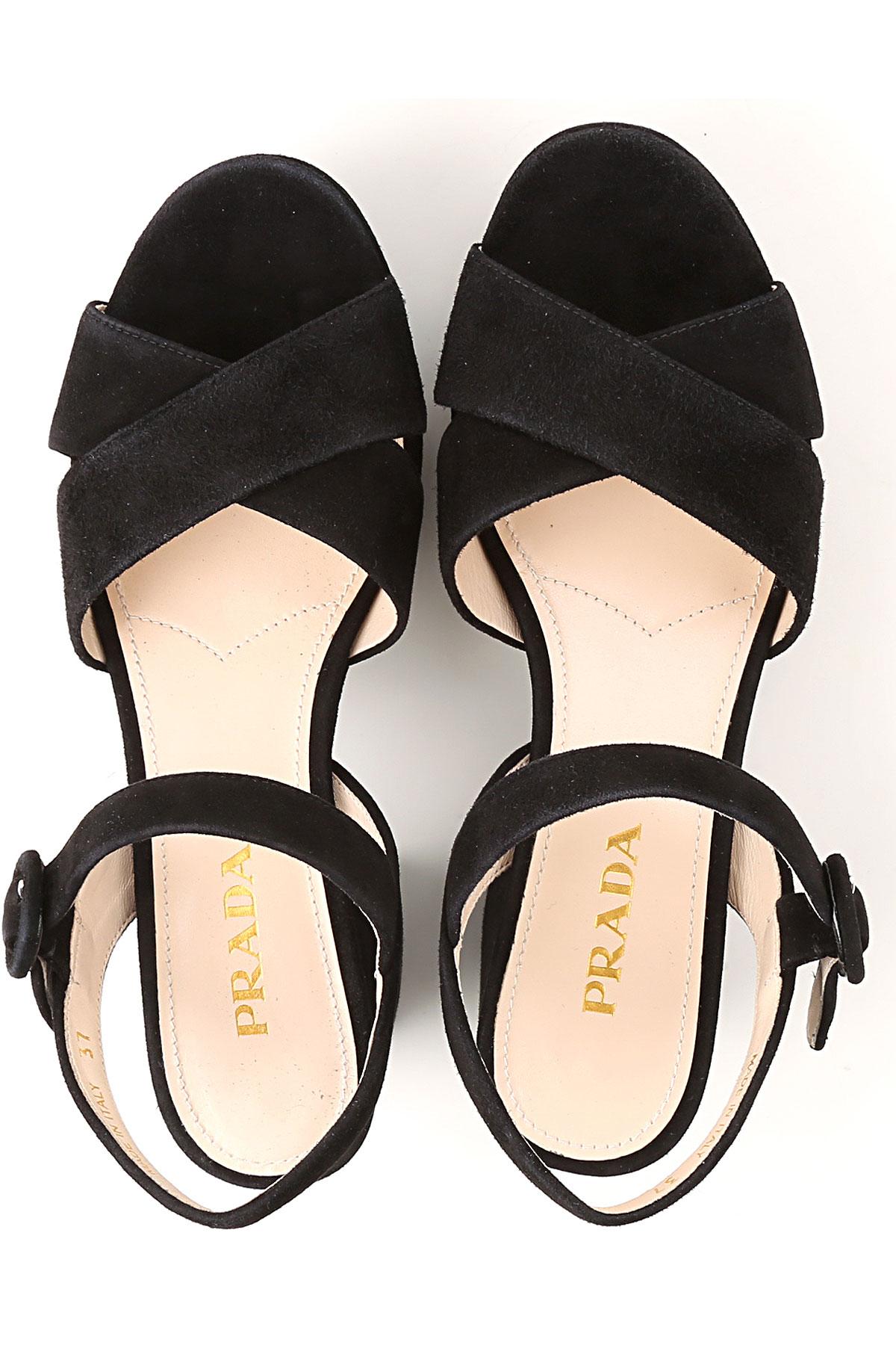 Mujer 2019 Negro Zapatos Para nbsp; verano Primavera Prada UwZaEq6n