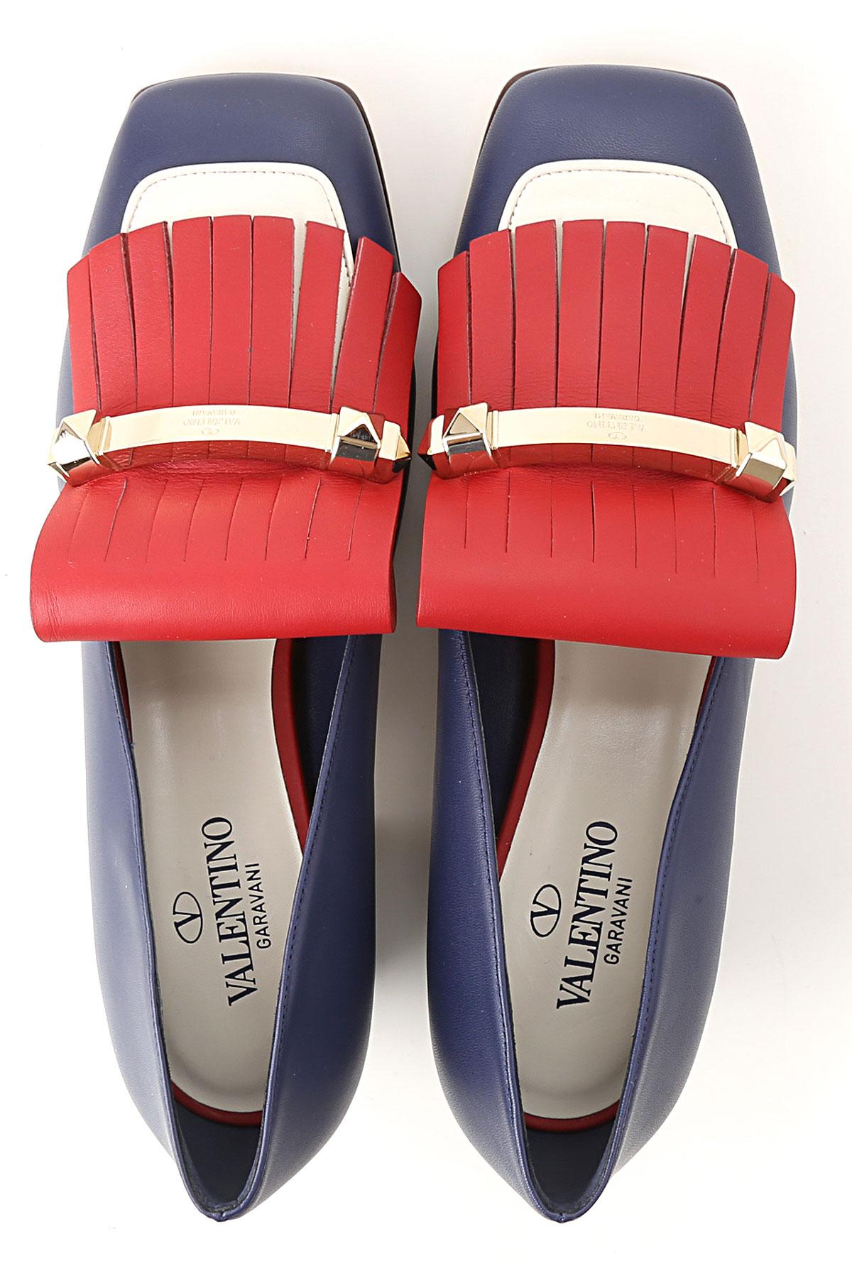 Azul Para Garavani Primavera verano Rojo 2019 Valentino Zapatos Mujer SzwFWn1q