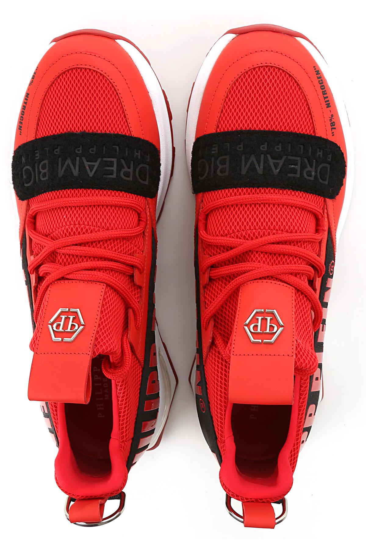 Negro Zapatos Primavera Plein Hombres Para 2019 Rojo Philipp verano 81B7q55