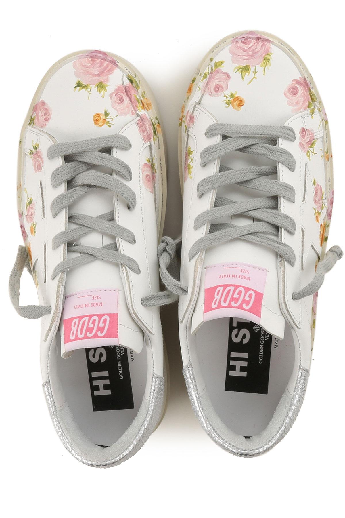 verano Zapatos Blanco Rosa nbsp;plata Primavera Golden Mujer Goose Para 2019 ZXHUvq5