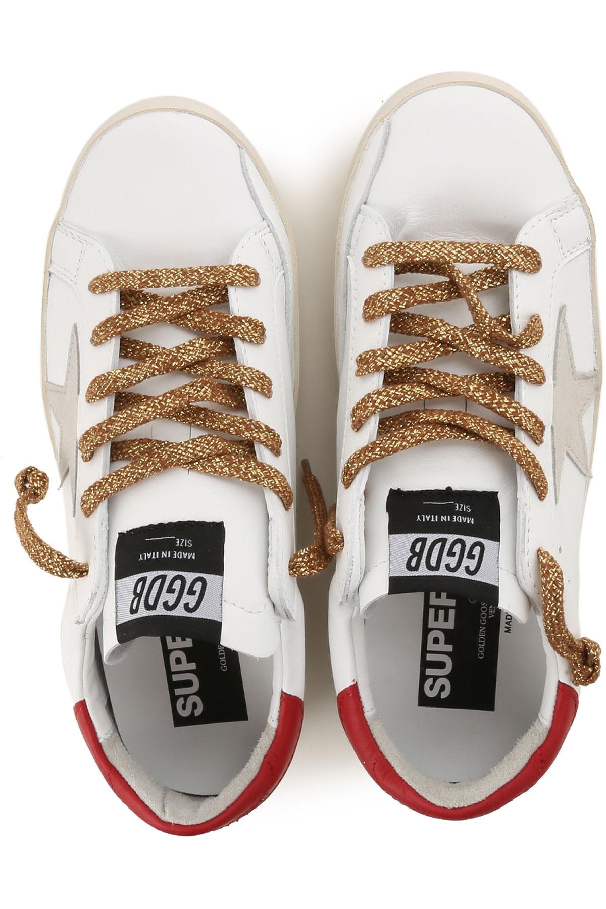 Blanco Zapatos Goose Rojo Golden verano Para Mujer 2019 Primavera vFqqS5wB